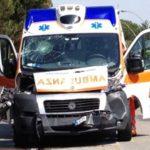 Savona – Auto contro ambulanza in corso Ricci