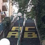 Scritte contro la Polizia su scalinata Montaldo, si teme per il derby