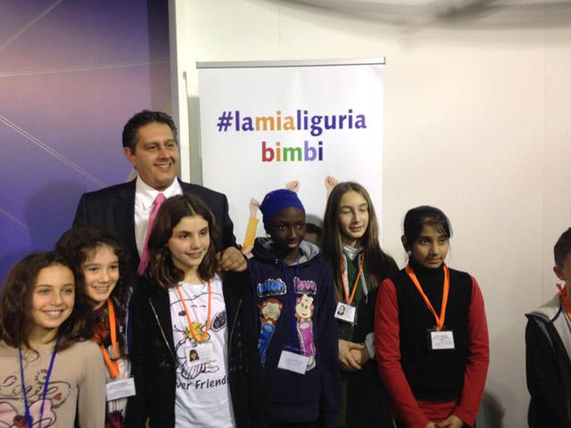 Regione Liguria, presentato alla Città dei Bambini il marchio #lamialiguriabimbi