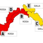 Maltempo Liguria, ad Imperia allerta rossa prolungata sino alle 12 di domani