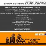 """""""Città per la vita"""", Genova incontrerà domani SueZann Boesler a Palazzo Ducale"""