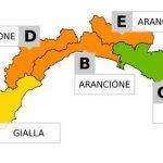 Maltempo in Liguria – Scatta l'allerta arancione sino alle 15