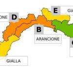 Maltempo in Liguria – Allerta sino alle 15 di oggi pomeriggio