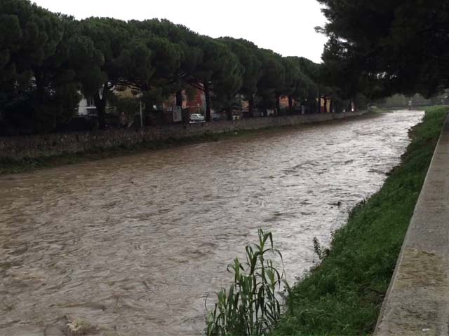 Maltempo in Liguria - Allerta Rossa sino alle 6 poi declassata ad Arancione
