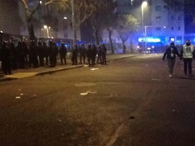 Torriglia, bus Atp in fiamme