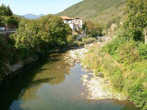 Maltempo Liguria, preoccupa la situazione del torrente Arroscia ad Ortovero