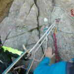 Sciarborasca – Alpinista ferito sul Monte Rama salvato dall'elicottero