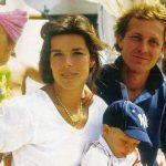 Caroline di Monaco ai funerali di Daniele Casiraghi, fratello di Stefano