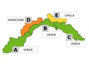 Meteo - Arriva la neve, allerta gialla su Valle Scrivia, Val d'Aveto e Val Trebbia