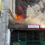 Incendio in un ristorante di Deiva Marina