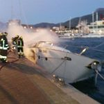Loano – Brucia yacht alla Marina, 3 morti – VIDEO