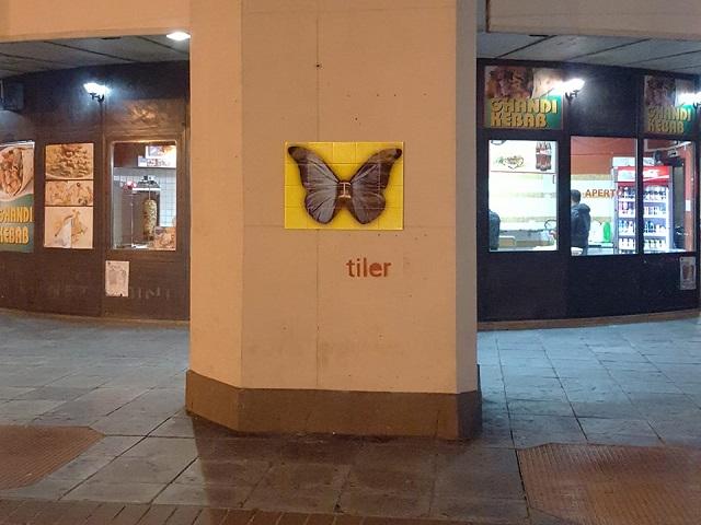 Tiler, l'artista genovese che dà voce ai muri