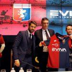 """Genoa, sarà """"Eviva"""" il nuovo sponsor della formazione rossoblu"""