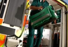 ambulanza interno operatore