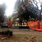 Nuovi giochi in piazza Staglieno a Levanto, iniziato il restyling