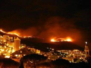 Incendi a Genova, tornano a casa gli sfollati a Pegli