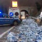 Autostrada A6 Savona-Torino chiusa per incidente ad Altare