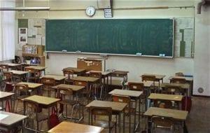 aula scuola, studenti, lavagna