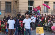 Carnevale a Marassi - Festa colorata in piazza Galileo Ferraris - VIDEO