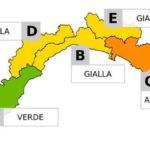 Genova – Allerta Gialla sino alle 20 per temporali