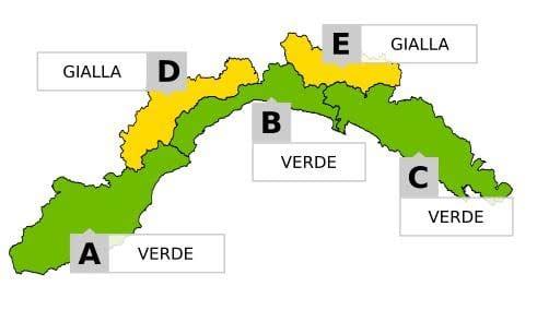 Maltempo in Liguria, torna l'allerta neve nell'entroterra di Genova e Savona