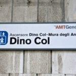Sampierdarena – Ascensore di via Dino Col fermo martedì 14 febbraio