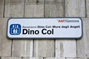 Sampierdarena, revisione agli impianti: giovedì chiuso l'ascensore Dino Col