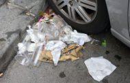 Derby - Il giorno dopo Marassi ancora invasa dalla spazzatura - Video
