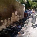 Genova – Incendiano cassonetto vicino ai tubi del gas a Prà