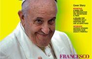 Papa Francesco sulla prima pagina di Rolling Stone.