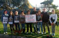 Animalisti contro il Circo a Genova - Protesta