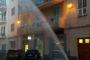 Incendio in un appartamento di via Piacenza, intossicato un uomo