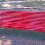 """Anche a Levanto la """"Panchina Rossa"""" contro il femminicidio"""