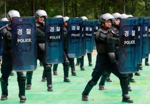polizia-Corea