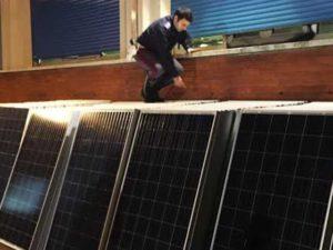Sequestro di 144 pannelli solari da parte della Stradale