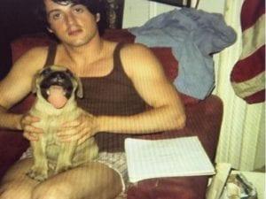 L'immagine di Stallone con il cane Buktu