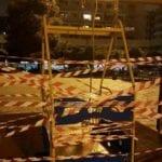 Genova – Distrutta alla Foce l'unica altalena per disabili di piazza Rossetti