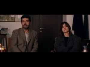 Favino e Smutniak i una scena del film