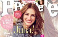 Cinema - People incorona Julia Roberts come donna più bella del mondo