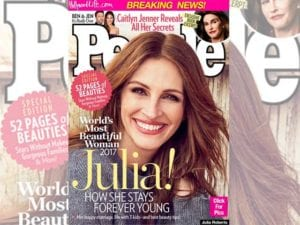 Julia Roberts è la donna più bella del mondo secondo People