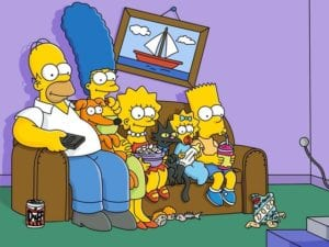 La famiglia Simpson compie 30 anni