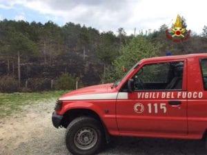 Incendio ai piani di Praglia, due persone denunciate