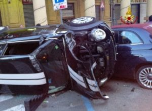 incidente in via Veneto