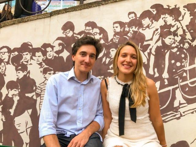 Nella foto, i due candidati Stefano Gaggero e Marianna Pederzolli