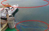 Porto Maurizio, continuano le bonifiche sulla macchia oleosa in Calata Anselmi