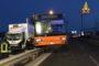 Chiavari, auto in fiamme in via Parma: indagini in corso