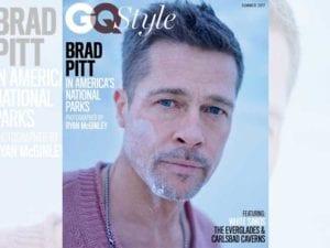 BRad Pitt sulla copertina di Gq Style
