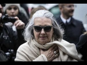 La stilista romana Laura Biagiotti