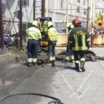 Grossa fuga di gas a Ponte Parodi: individuata la perdita
