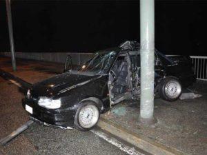 Incidente a Torino, morto 20enne